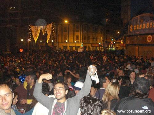 Fim de Ano no Chile - Valparaíso