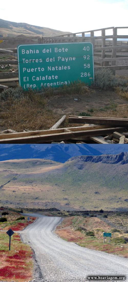 Ariba por la carretera! Ahora bamos a El Calafate! ARGENTINA!