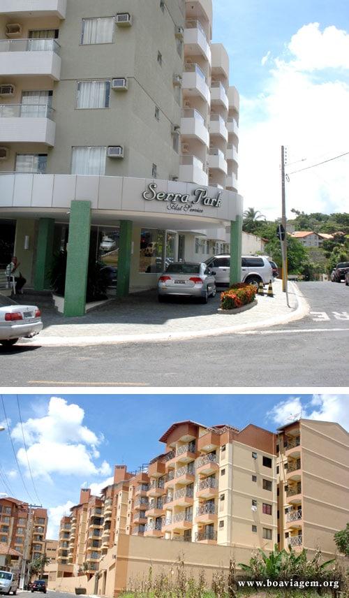 Hotéis, Resorts, Pousadas e muitas hospedagens na Esplanada do Rio Quente