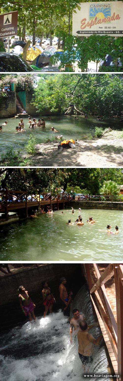 Camping Esplanada - Natureza, Sombra, Água naturalmente quente e carne assada!