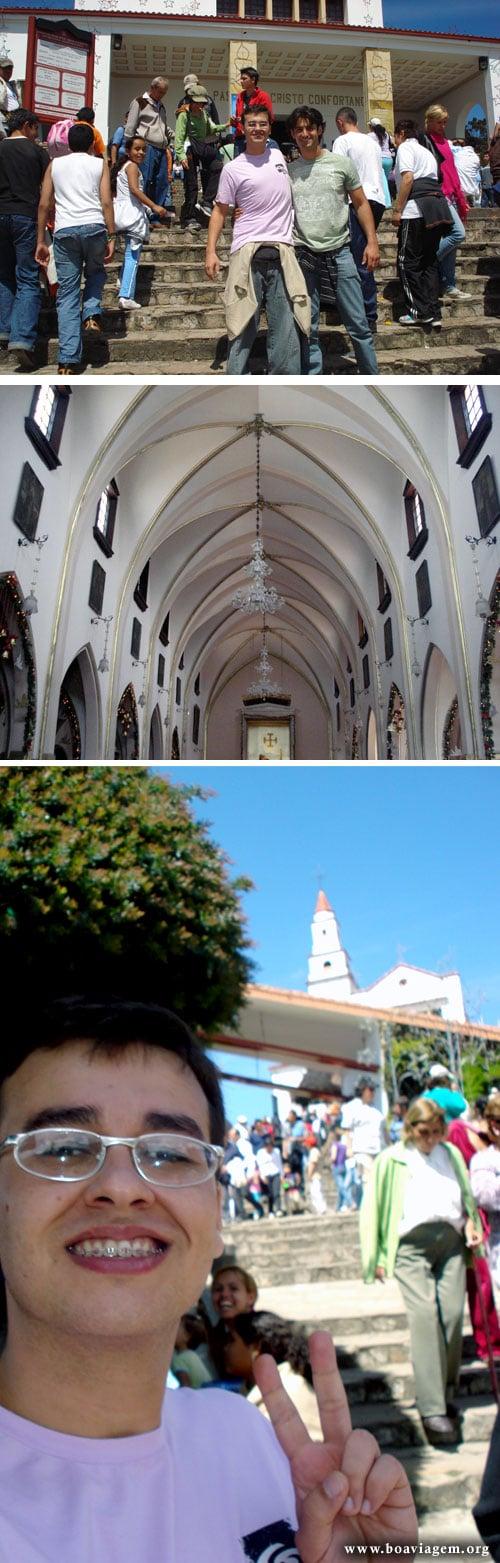 Igreja no cume do Monserrate