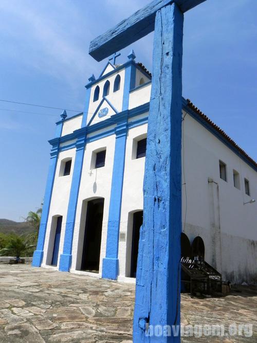 Típica Igreja na cidade de Goiás Velho