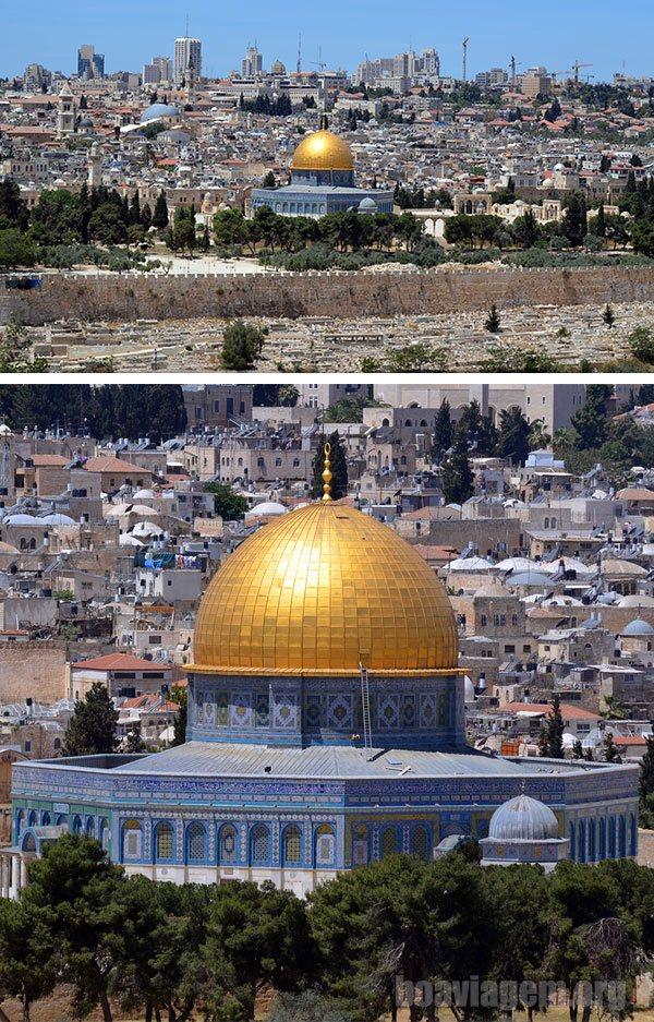 Cúpula da Rocha ou Domo da Rocha ou ainda Mesquita de Omar