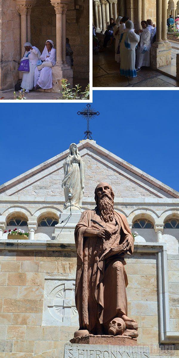 Basílica da Natividade - no suposto lugar de nascimento de Jesus Cristo