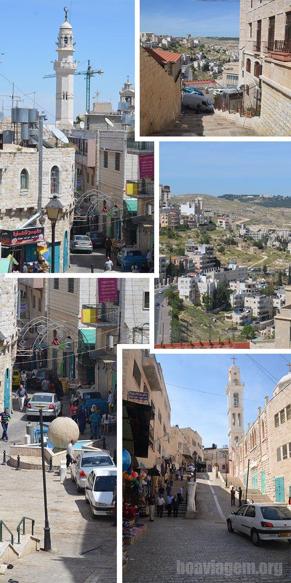 Manjedoura na cidade de Belém, na Palestina