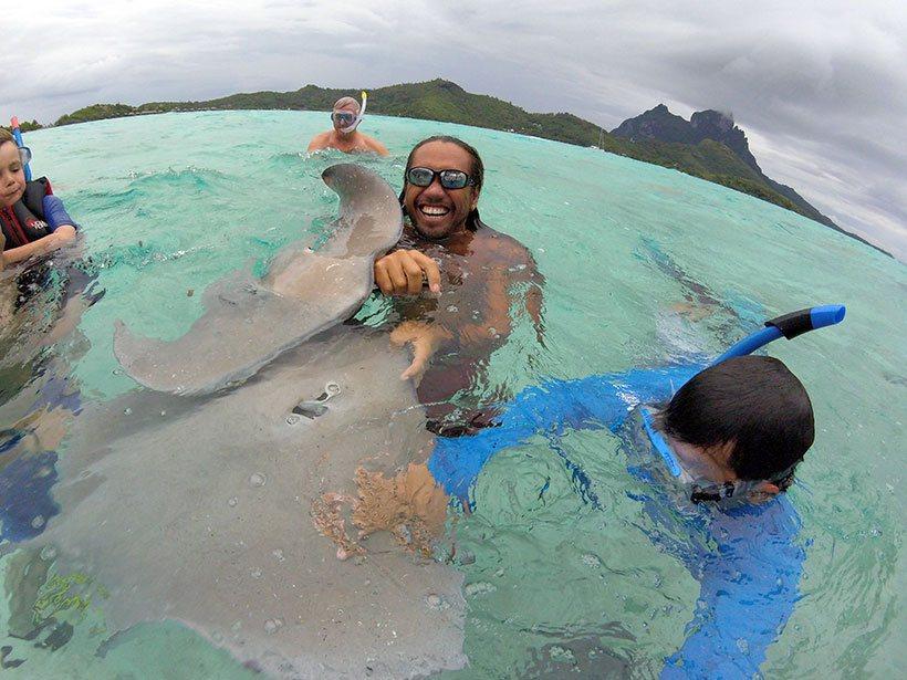 O Didi me mostrou como é sua rotina diária na Polinésia Francesa