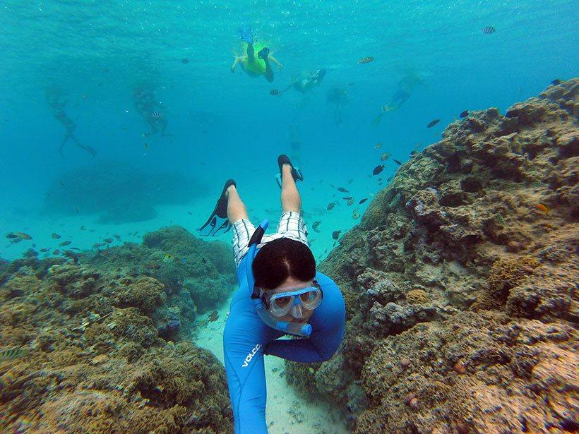 Snorkel em Bora Bora