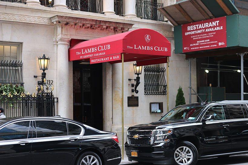 The Lambs Club, restaurante em Nova York