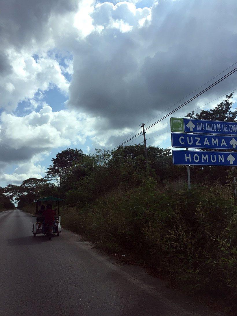 Visitando a cidade de Cuzamá - Yucatán