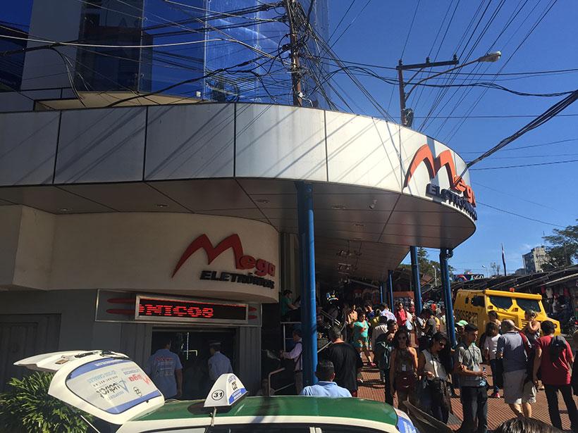 Mega Eletrônicos no Paraguai / Lojas para comprar no Paraguai