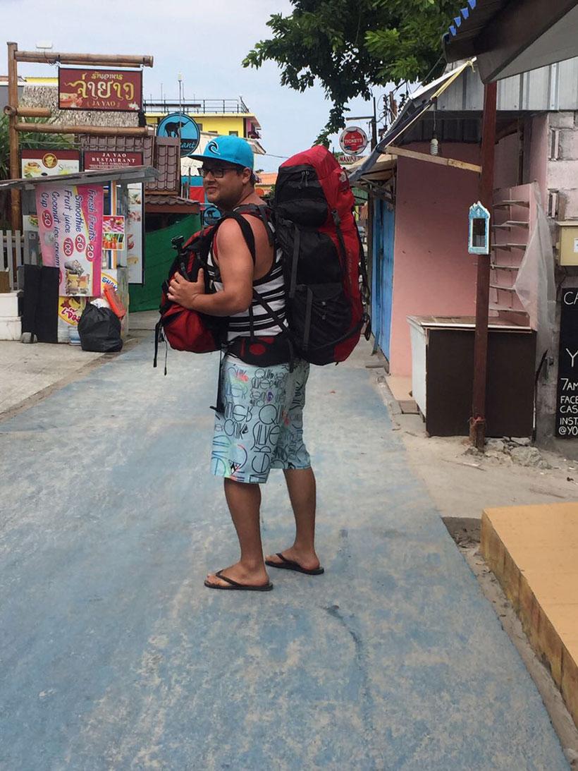 Mochilando nas ilhas da Tailândia