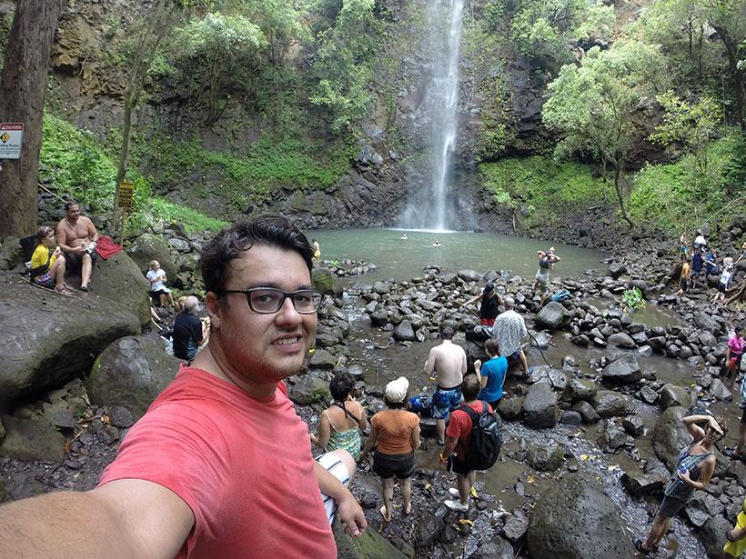 Cachoeira no Havaí