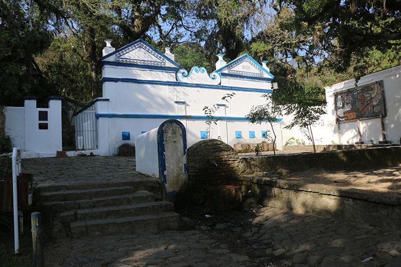 Centro histórico de Laguna - Fonte de água mineral pública em Laguna-SC
