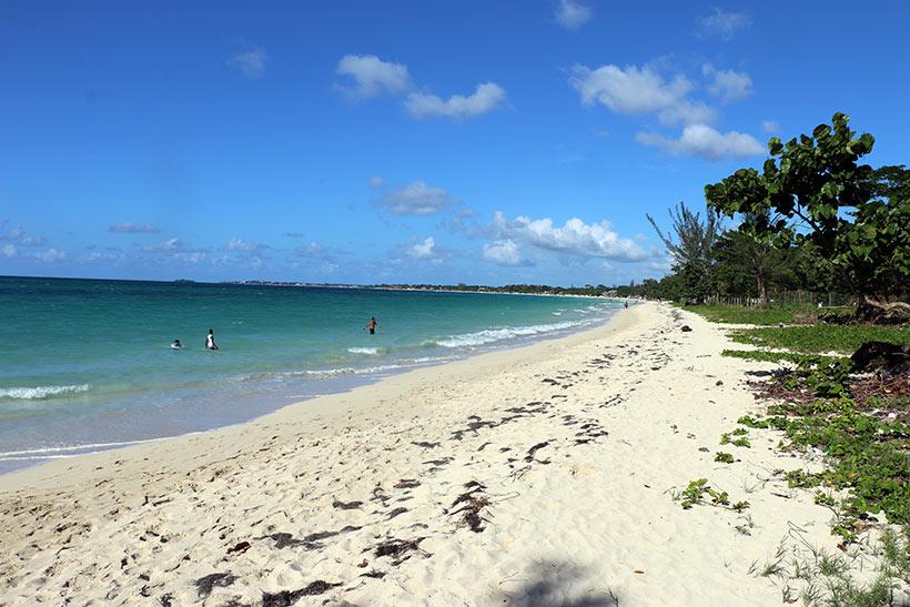 Seven Miles Beach, a praia das 7 milhas em Negril, Jamaica