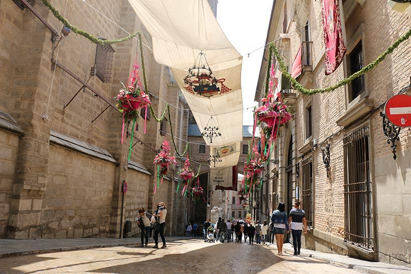 Ruas principais de Toledo - Espanha