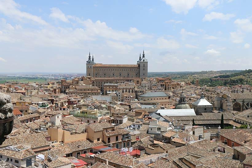 Vista obtida no topo da Igreja dos Jesuítas
