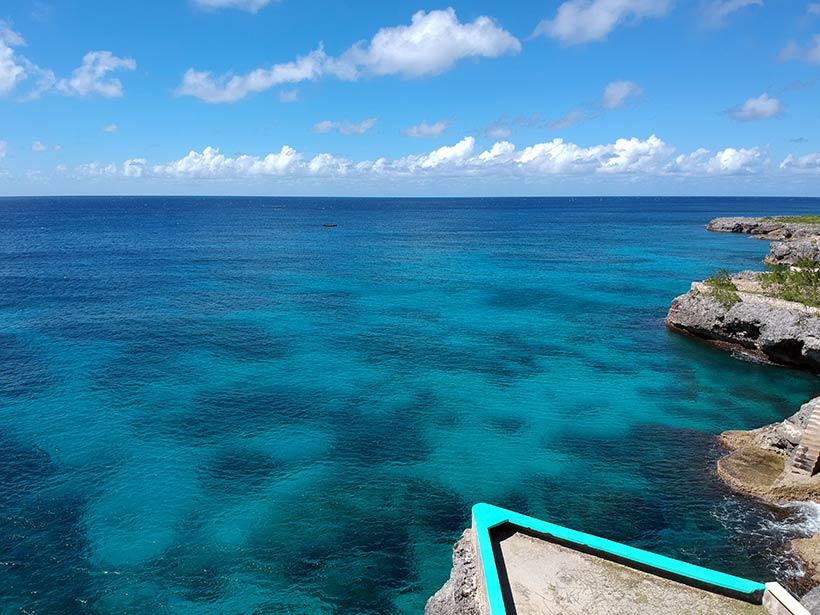 Toda a beleza do Mar do Caribe