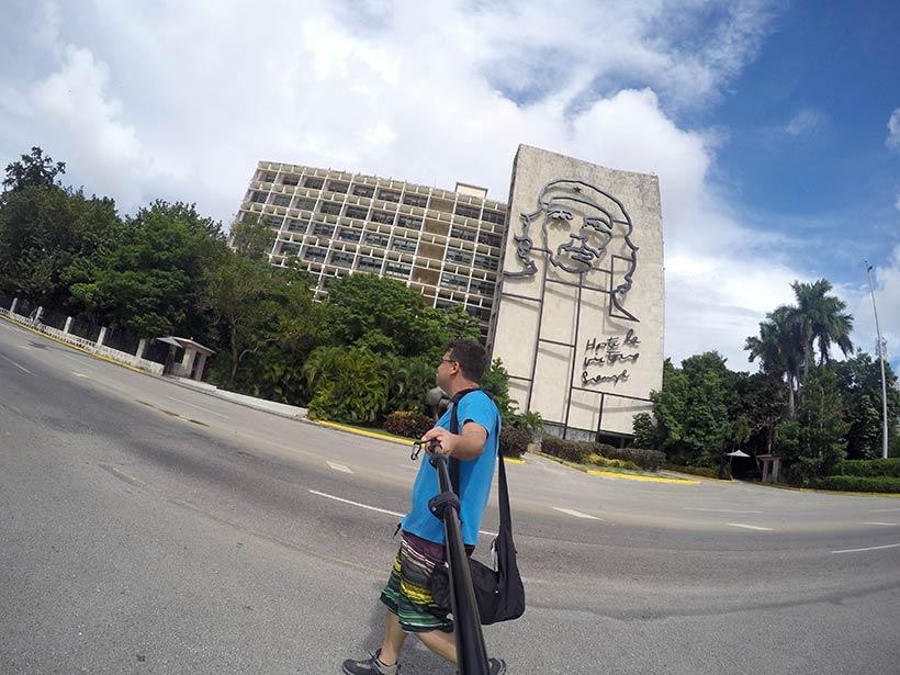 Pelas ruas de Havana em Cuba
