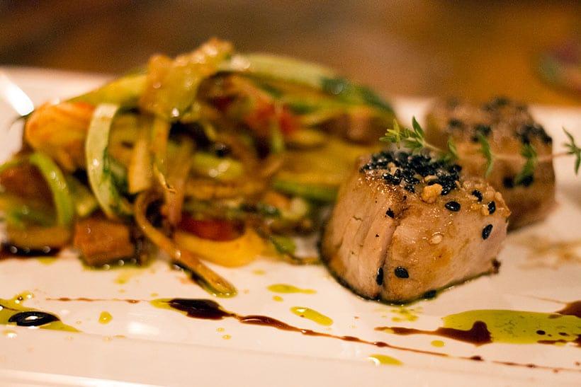 >Mais uma foto incrível do Atum Suave do Restaurante Mergulhão