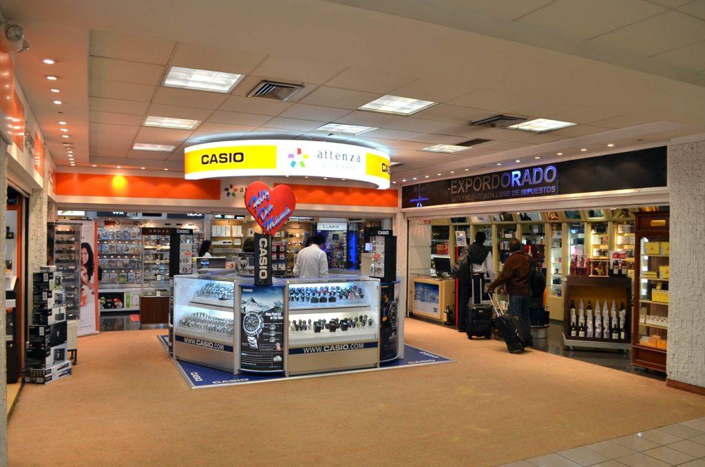 Free Shops da América do Sul