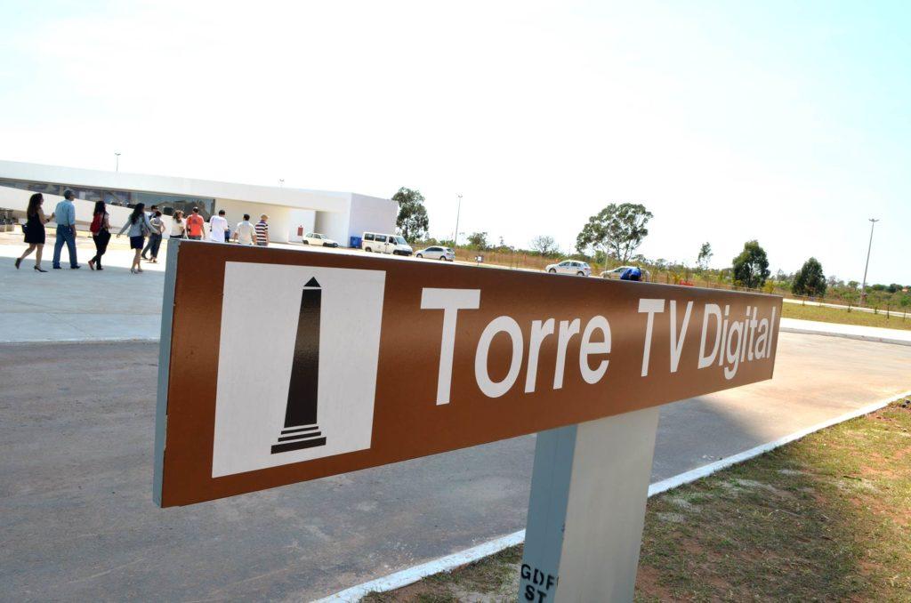 Torre de TV em Brasília