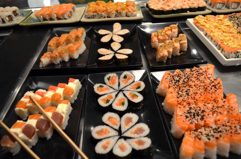 comida japonesa em Brasília