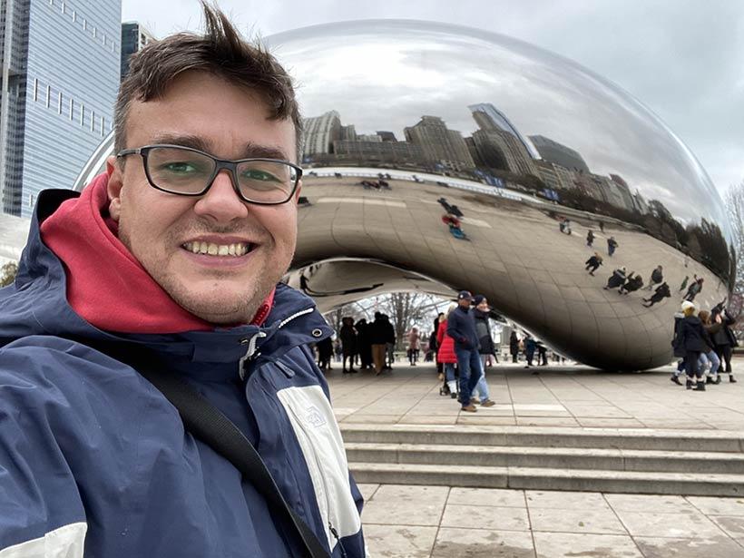Millenium Park e The Bean em Chicago