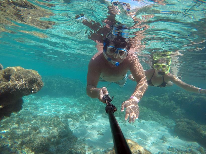 Mergulho livre em Maragogi