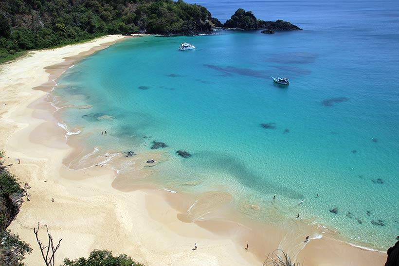 Praias do Nordeste: Baía do Sancho em Fernando de Noronha